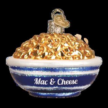 Mac & Cheese Glass Ornament