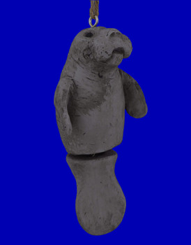 Comical Manatee Ornament by Bert Anderson BAC181