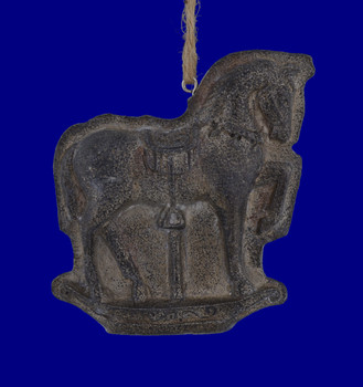 """Carousel Horse Vintage Chocolate - Candy Mold Style Ornament, 3 1/2"""", MW143631"""