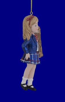 England British Girl International Ornament side
