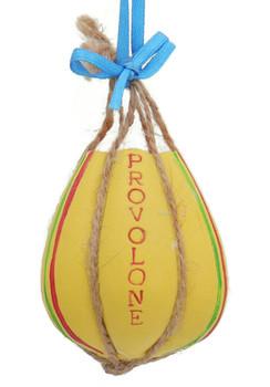 Provolone Italian Deli Cheese Ornament