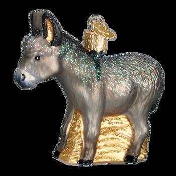 Donkey Glass Ornament