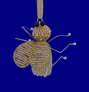 Retro Beaded Bead Ornaments GOLD Tint