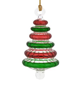 Christmas Tree Egyptian Glass Ornament