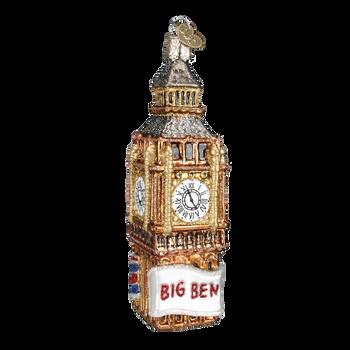 London Big Ben Glass Ornament