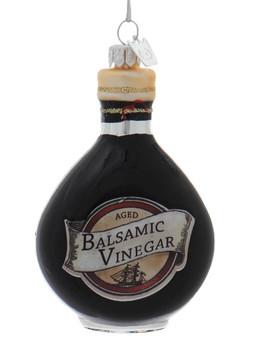 Italian Balsamic Vinegar Glass Ornament