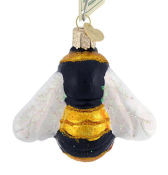 Bumblebee Glass Ornament 12521 Old World Christmas