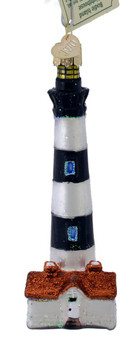 Bodie Island Lighthouse Glass Ornament 20102 Old World Christmas