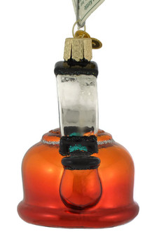 Tea Kettle Glass Ornament 32349 Old World Christmas front