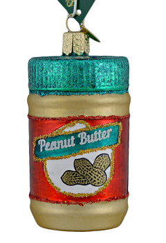 Peanut Butter Glass Ornament 32352 Old World Christmas