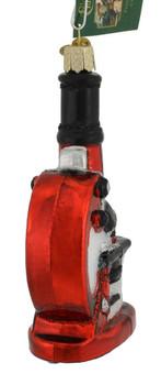 Microscope Glass Ornament 36242 Old World Christmas back