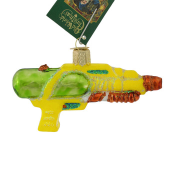 Squirt Gun Glass Ornament by Old World Christmas 44114