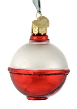 Fishing Bobber Glass Ornament 44115 Old World Christmas