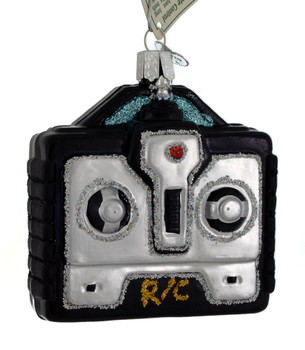 Drone or Toy Remote Control Glass Ornament 44120
