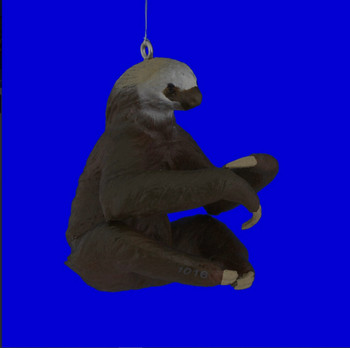 Two Toed Sloth Ornament right side