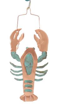 Lobster Copper Ornament Full String