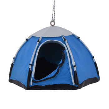 Small Pop-Up Dome Tent Ornament Blue