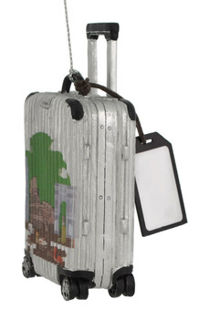 Europe Travel Luggage Italy Ornament side