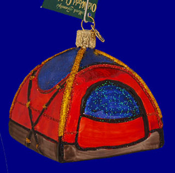 Old World Christmas Ornament-NEW 32189 *Classic BBQ* Barbecue Camping Cooking