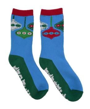 Ladies Thick, Warm Christmas Socks - Naughty and Nice, Size 9-11, mas109