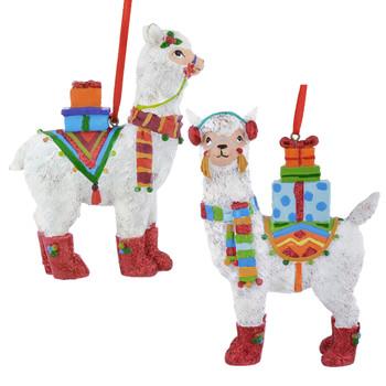 Peru Llama Ornaments
