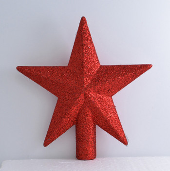 Miniature Star Tree Topper red