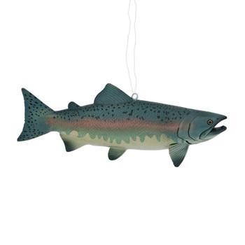 Textured Salmon Ornament