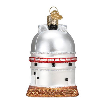 """Astronomy Observatory Glass Ornament, 3 1/4"""", OWC# 20107"""