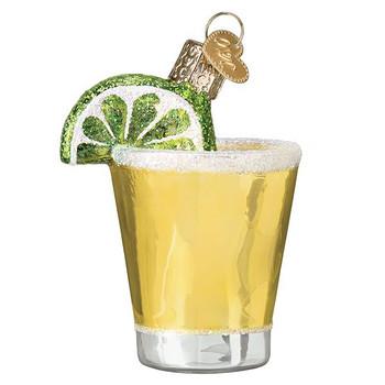 "Tequila Shot Glass Ornament, 3"", OWC# 32334"