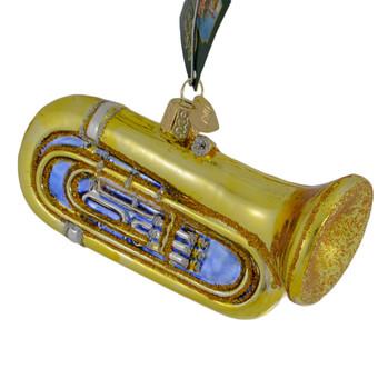 Tuba Glass Ornament 38055