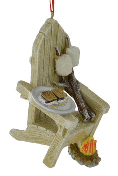 Campfire Chair Ornament side