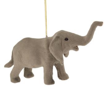 Plush Safari Animal - Elephant Ornament