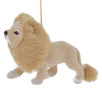Plush Safari Animal - Lion Ornament
