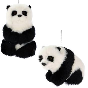 Plush Panda Ornaments
