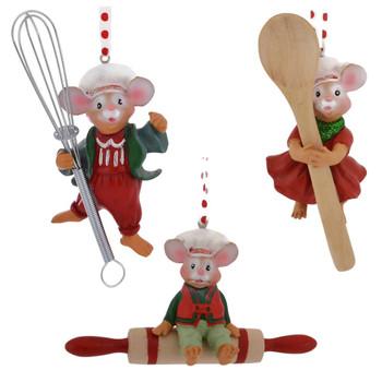 Kitchen Mouse Ornament