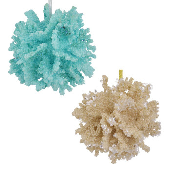 Sea Coral Ball Ornament