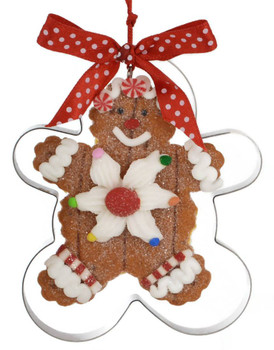 Cookie Cutter Ornament gingerbread front