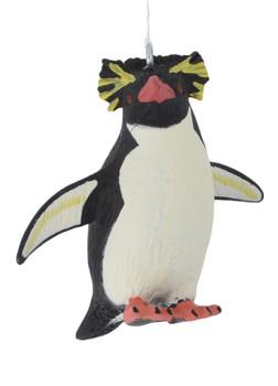 Small Rockhopper Penguin Ornament