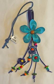 Leather Flower Ornament flat