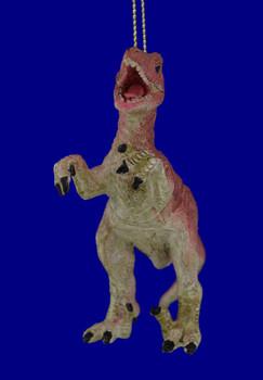 Break Resistent Velociraptor Dinosaur Ornament front