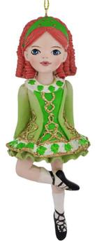 Irish Girl Ornament