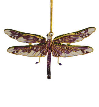 Cloisonne Dragonfly Ornament top