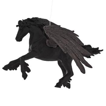 Midnight Pegasus Ornament left side
