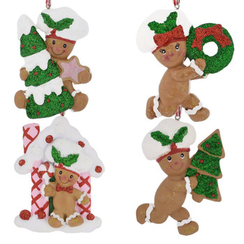 Baker Hat Gingerbread Boy Ornament