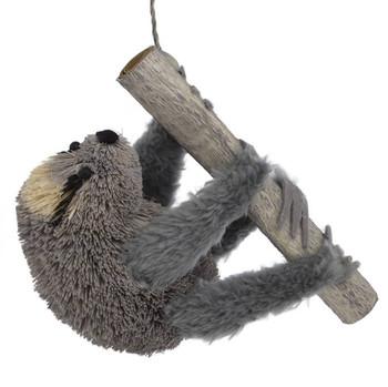 Buri Bristle Sloth Ornament