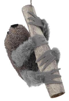 Buri Bristle Sloth Ornament front