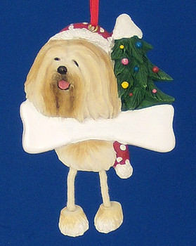 Personalized Lhasa Apso Ornament