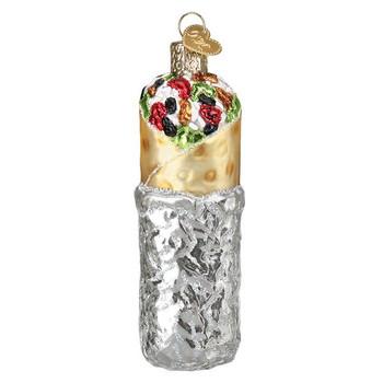 """Burrito Glass Ornament, 4 1/2"""", OWC# 32412"""