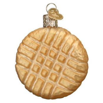 Peanut Butter Cookie Glass Ornament