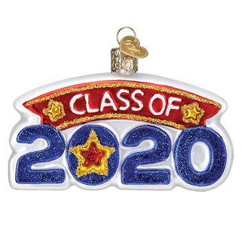 Class of 2020 Glass Ornament